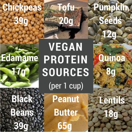 vegan protein sources